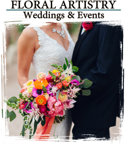 visual lyrics wedding flowers
